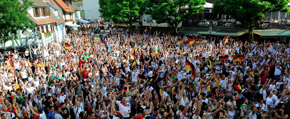 EM 2016 Public Viewing in Stuttgart